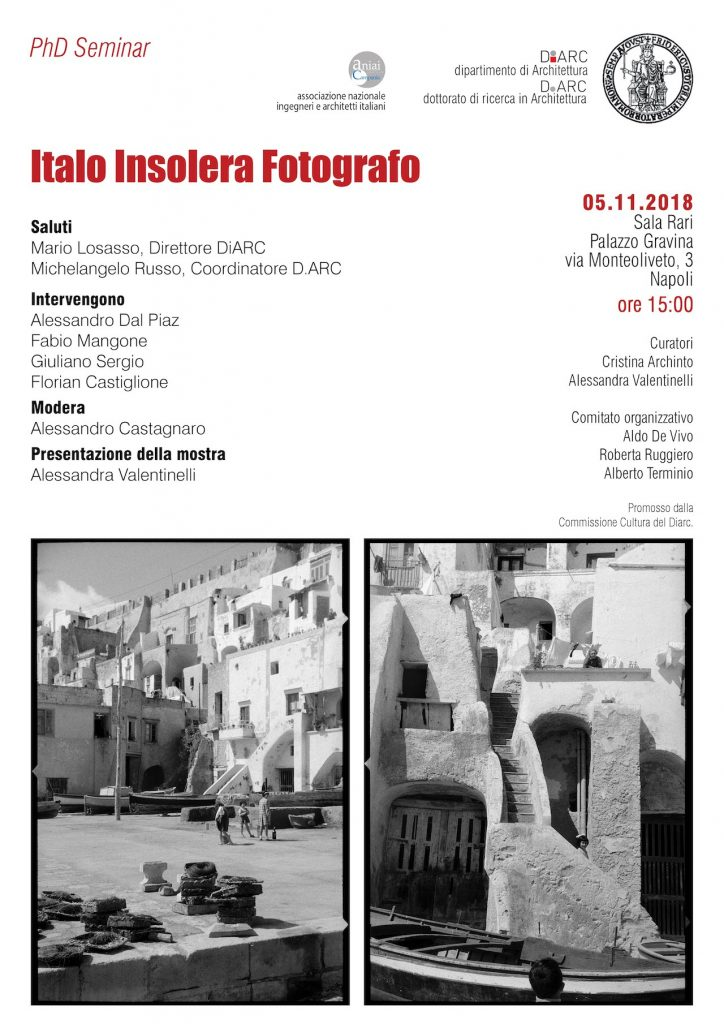 Presentazione della Mostra – Italo Insolera Fotografo