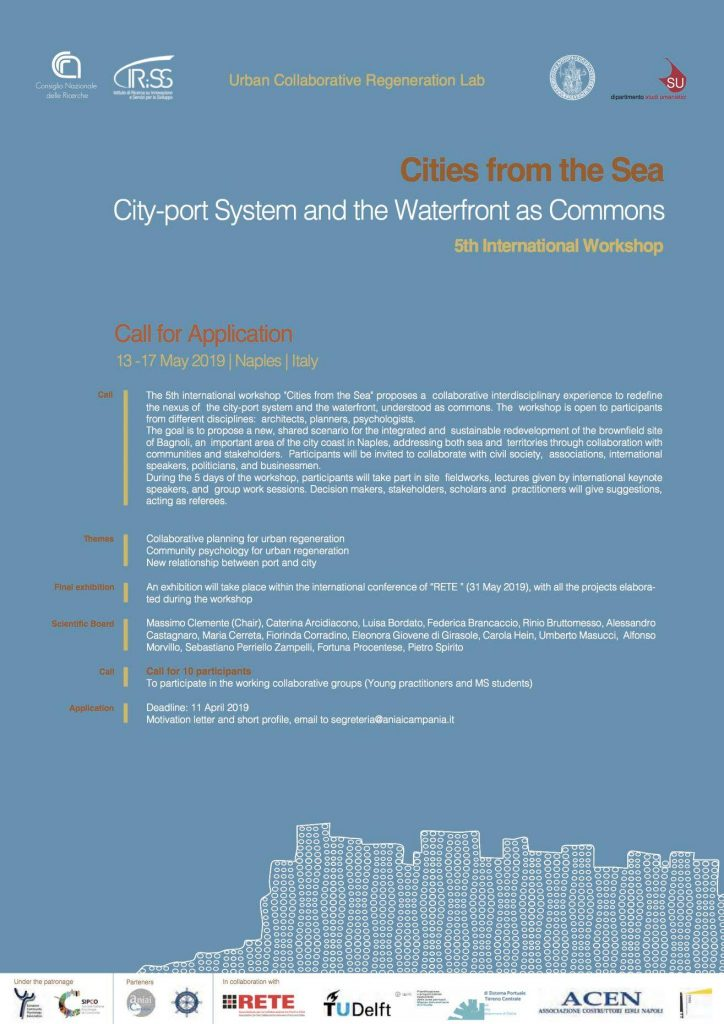 "5th International Workshop ""Cities from the Sea"""
