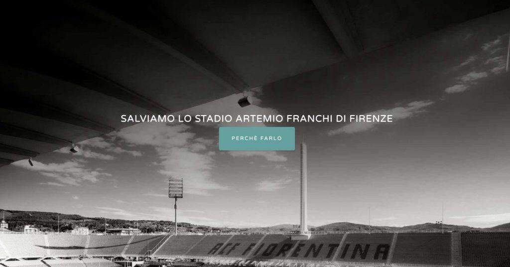 Salviamo lo stadio Franchi di Firenze. On-line il sito dedicato a scongiurare il concreto pericolo di demolizione dell'opera